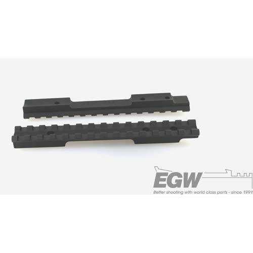 EGW Savage Flat Back Long Action Matte Black EG-41402--- 20 MOA