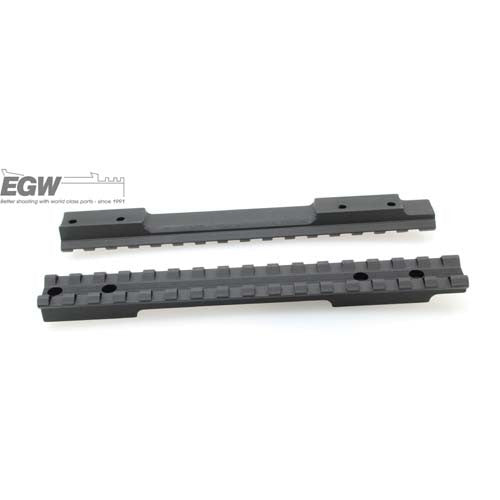 EGW Savage Round Back Short Action Matte Black EG-41020--- Left Handed 0 MOA