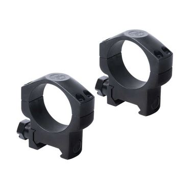 "1"" Medium Matte Black Steel, Leupold #60595"