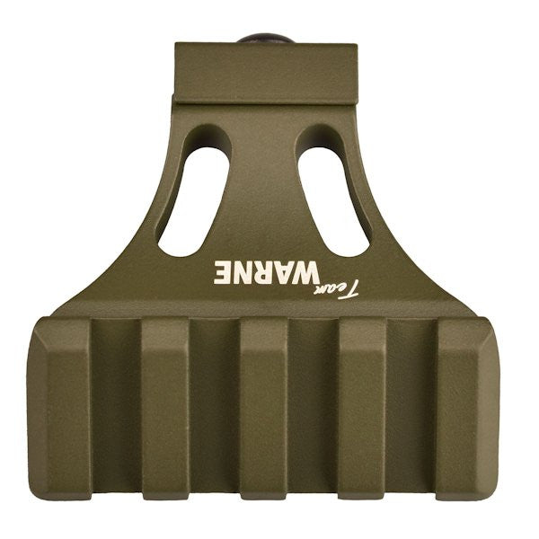 Warne--- A645-OD 45-Degree Angle Mounting Rail Olive Drab