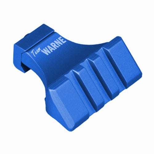 Warne--- A645-BU 45-Degree Angle Mounting Rail Blue
