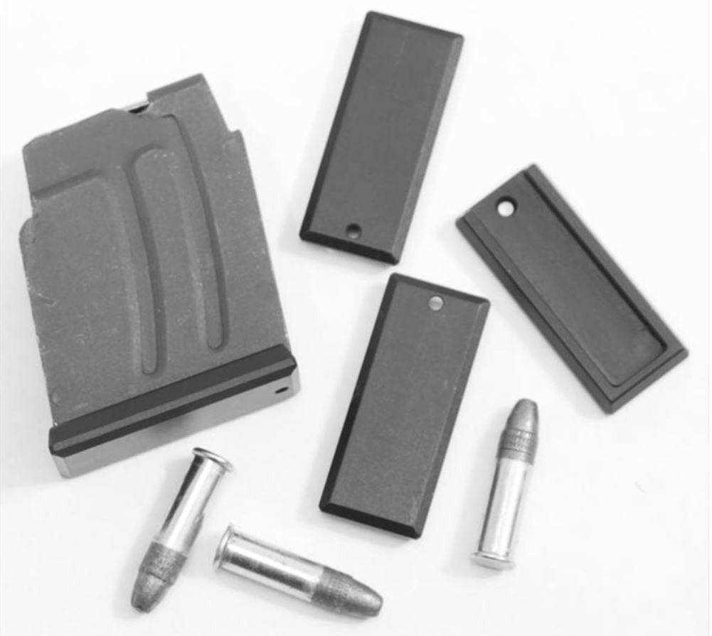 DIP DP-19055-blk Aluminum Floorplate for Steel Magazine