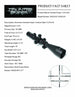 Counter Sniper DOH-329 30mm 3-25x56 TDRM Side-Focus Illuminated