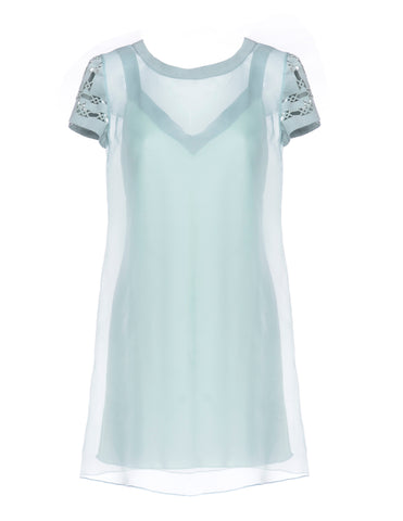 Organza Shift Dress