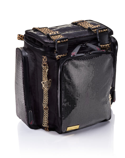 Sterling O'Keefe Wild Cat Durable Sequin Backpack