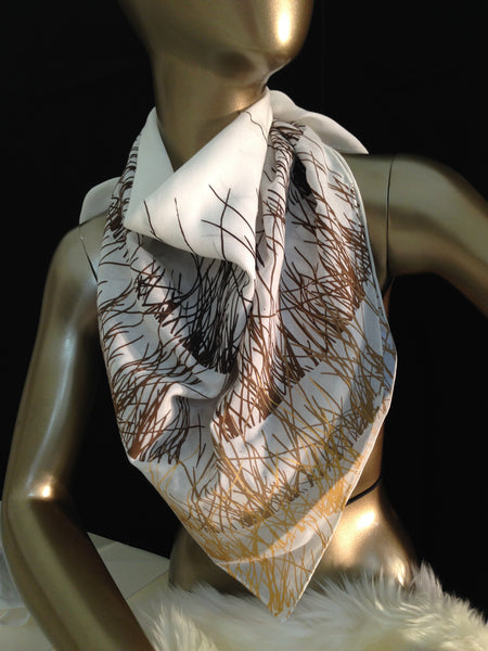 - Golden Grass Scarf