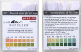 Plastic pH Test Strips, Universal Application (pH 4.5-9.0), 100 Strips