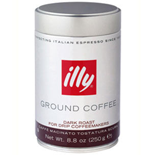 Illy Dark Roast Ground Coffee Espresso