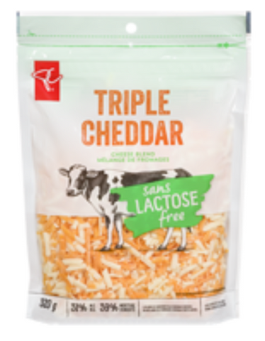 Lactose Free Cheddar Shredded Cheese