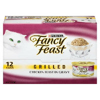 Cat Food Fancy Feast Grilled Poultry & Beef Variety Pack