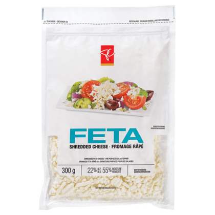 President's Choice Feta Shredded Cheese