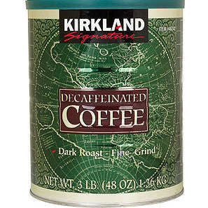 Kirkland Signature Decaffeinated Coffe