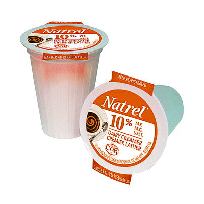 Natrel Cream 10% Cups Bag