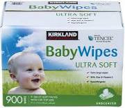 Kirkland BabyWipes ultra soft