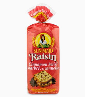 Raisin Bread Sun-Maid Pack