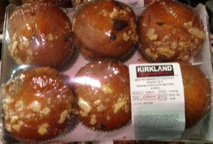 Kirkland Banana Chocolate Muffin (2 Packs)
