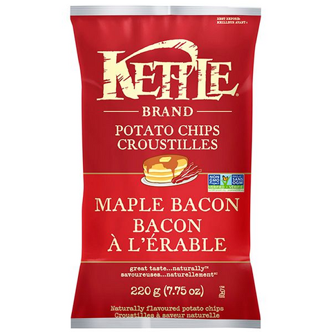 Kettle Chips Maple Bacon
