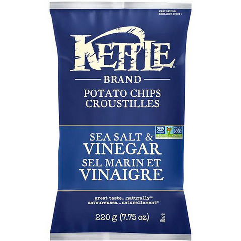 Kettle Chips Sea Salt and Vinegar