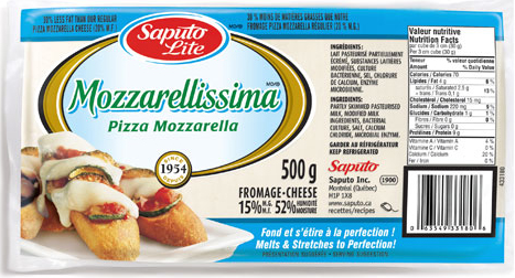 Mozzarellissima Light brick