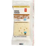 Pc Family Pack Swiss Sliced Cheese