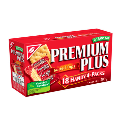 Premium Plus Crackers Handy Pack Salted Tops
