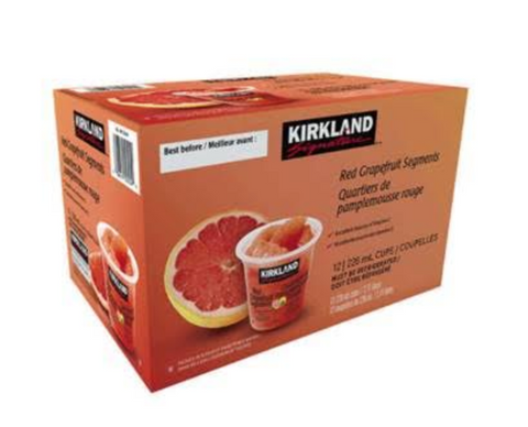 KS Red Grapefruit Cups