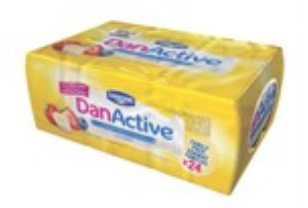 Danone Active Yoghurt Drink Mix Pack
