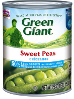 Sweet Peas Green Giant