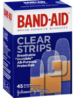 Clear Strips Band-Aid