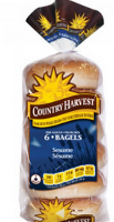 Country Harvest Bagels Sesame