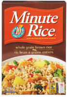 Minute Rice Whole Grain