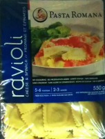 Ravioli Cheese And Spinach Pasta Romana