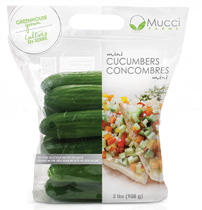 Mucci Farms Cucumbers (Mini)