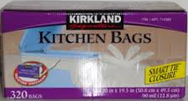Kirkland Signature Kitchen Bags