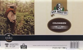 Van Houtte Coffee Colombian Dark
