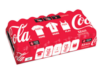 Coca Cola Cans Case Of 32