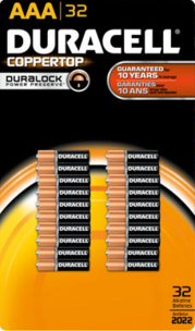 Batteries Duracell Aaa Pack