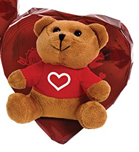 Russell Stover Teddy Bear Heart