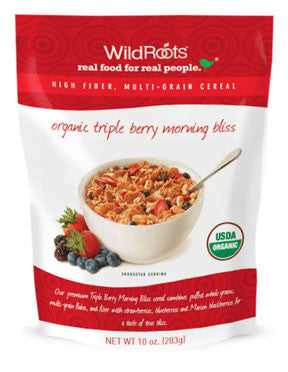 Wild Roots Organic Triple Berry Morning Bliss