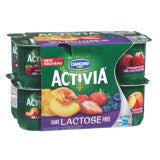 Activia Mix Pack Lactose Free Fruity