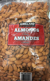 Kirkland Signature Whole Almonds