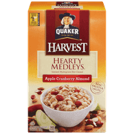 Quaker Oatmeal Hearty Medleys Apple Cranberry Almond
