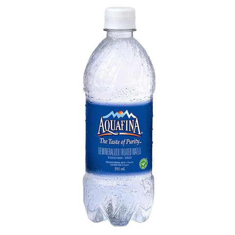 Water Bottle Aquafina