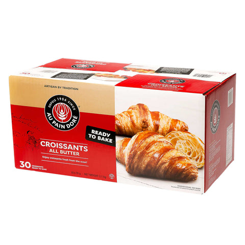 Au Pain Dore All Butter Croissants