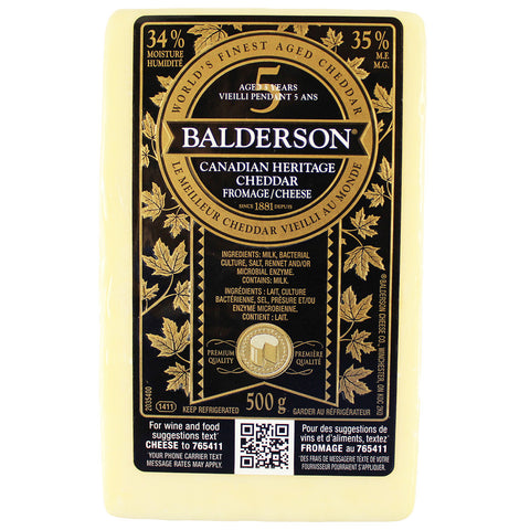Cheese Balderson Cheddar 5 Years