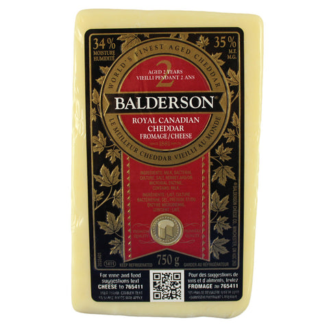 Cheese Balderson Cheddar 2 Years