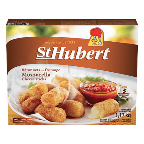 St Hubert Mozzarella Sticks
