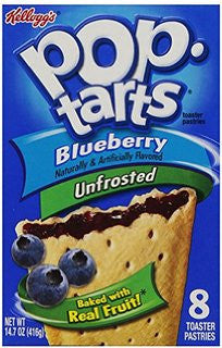 Blueberry Pop Tarts Kellogg's