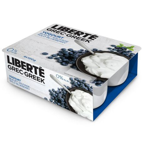 Liberte Greek Yogurt Blueberry 0%
