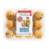 President's Choice Blueberry Mini Muffins